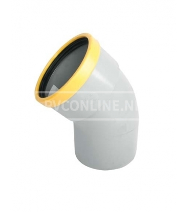 PVC BOCHT 1 X MA/S SN 8