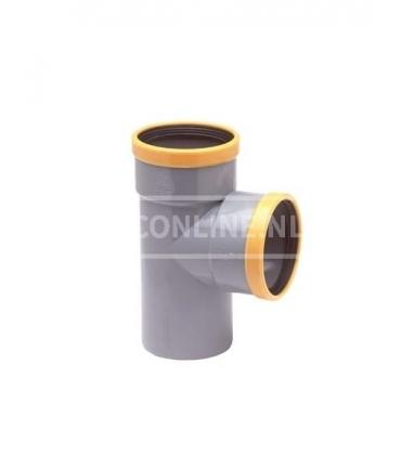 PVC T-STUK 2 X MA/S SN 8 90*