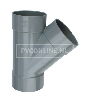 PVC T-stuk 3XLM 45*