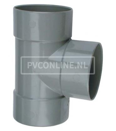 PVC T-stuk 3XLM 90*