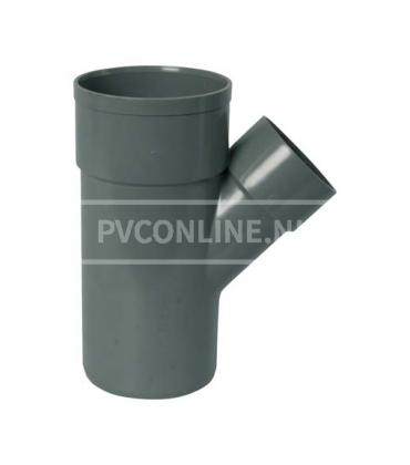 PVC T-stuk 2XLM/S 45*
