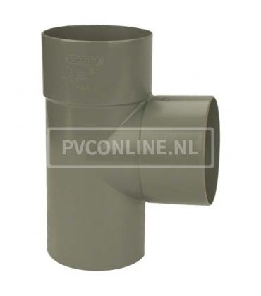 PVC T-stuk 2XLM/S 90*