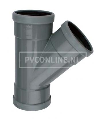 PVC T-stuk 3 X MA 45*