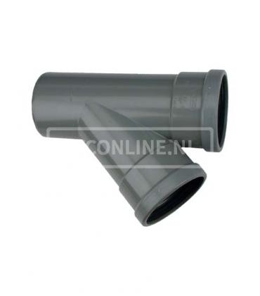 PVC T-stuk 2 X MA 45*