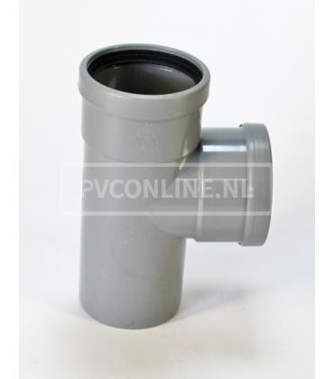 PVC T-stuk 2 X MA 90*