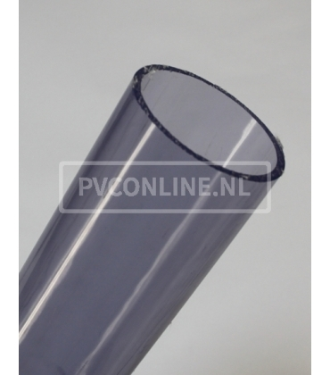 PVC Transparant 1 meter