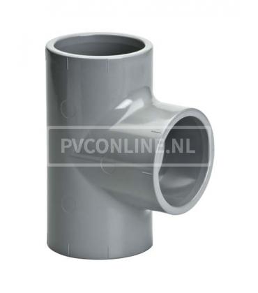 C-PVC T-stuk 90*