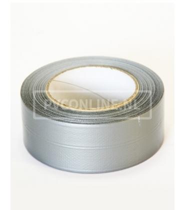 Linnengecoate tape grijs