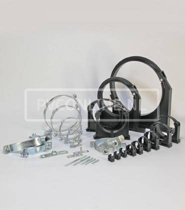PVC Druk montage en bevestiging