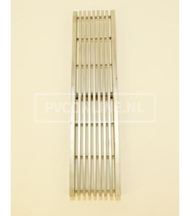 Aco self euroline driekant design staafrooster RVS