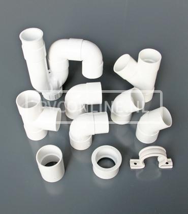 Witte PVC 32.40 en 50mm