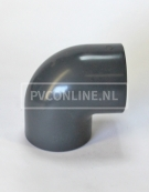 PVC HD KNIE 16 X 16 90o PN16 *ASTORE*