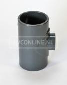 PVC HD T-STUK 20 X 16 X 20 PN16 *ASTORE*