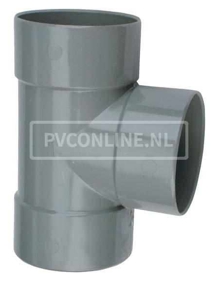 PVC T-STUK 3 X LM 32 X 32 90*