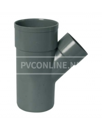 PVC T-STUK 2 X LM/S 32 X 32 45*