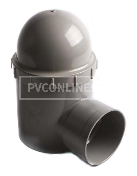 PVC REGENWATERSIFON 110 x 110