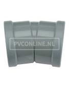 PVC BOCHT 2 X MA 110 15*
