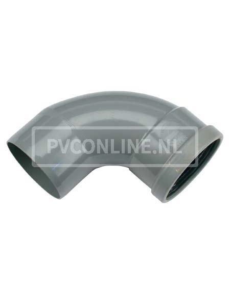 PVC BOCHT 1 X MA/S 110 90*