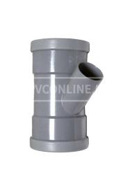 PVC T-STUK 2 X MA 110 X 40 45*
