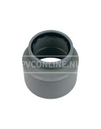 PVC INZETVERLOOP 1 X S/MA 125X110