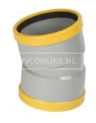 PVC BOCHT 2 X MA 125 SN 8 15*
