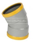 PVC BOCHT 2 X MA 125 SN 8 30*