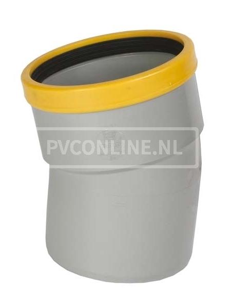 PVC BOCHT 1 X MA/S 125 SN 8 15*