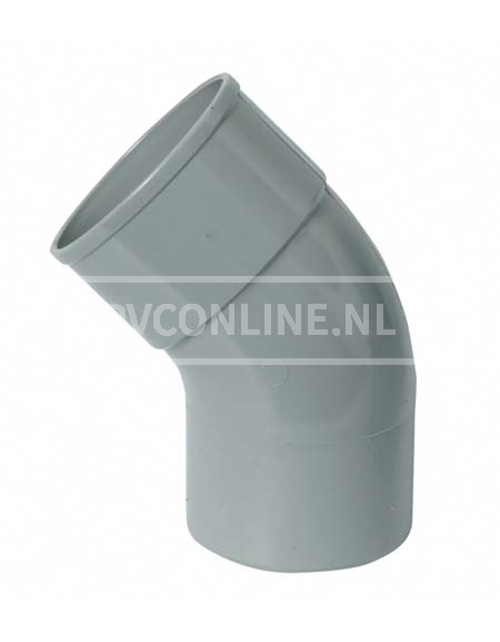PVC BOCHT HWA M/SPIE 70 22*