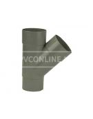 PVC T-STUK M/VS 60 45*