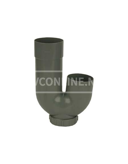 PVC PVC REGENWATERSIFON 80X 80 (zonder bochten)