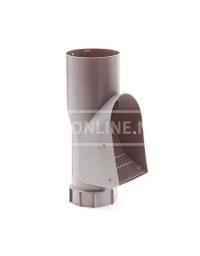 PVC BLADSCHEIDER GRIJS 110 (zonder nokjes is de onderkant verj.spie 100)