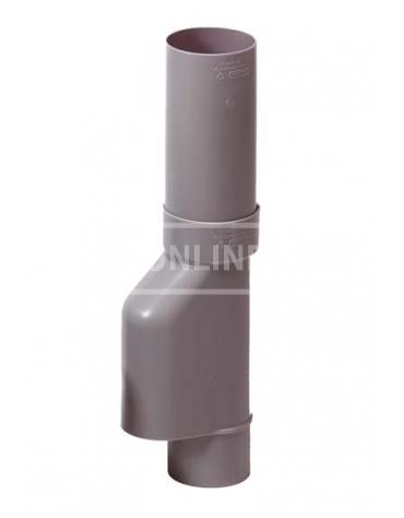 PVC BLADSCHEIDER GRIJS 80