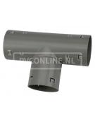 PVC DRAINAGE T-STUK 80 X 80 90*