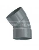 PVC BOCHT 2 X LM 32 45*