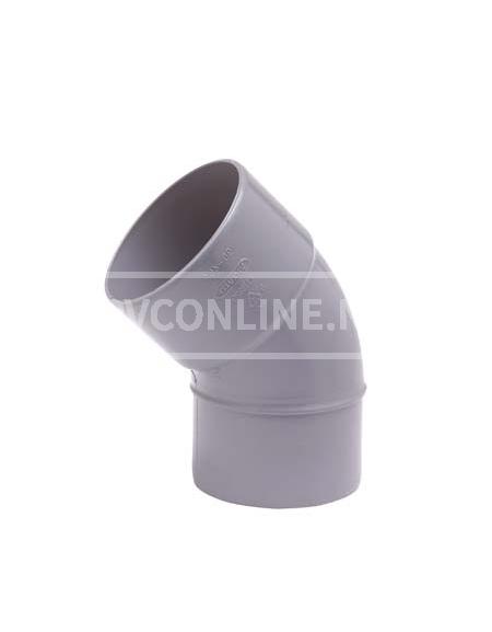 PVC BOCHT 1 X LM/S 32 45*