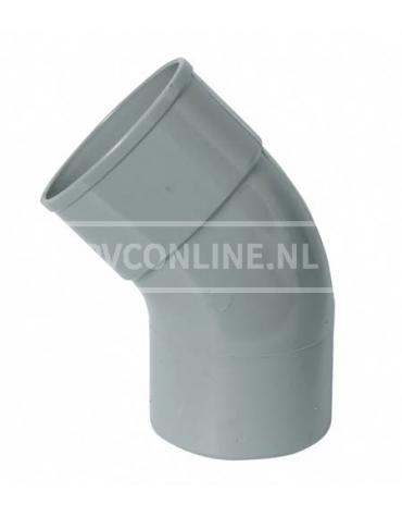 PVC BOCHT 1 X LM/S 110 67*