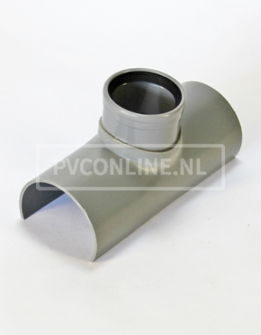PVC RIOOLZADEL 110 x 75 MANCHET