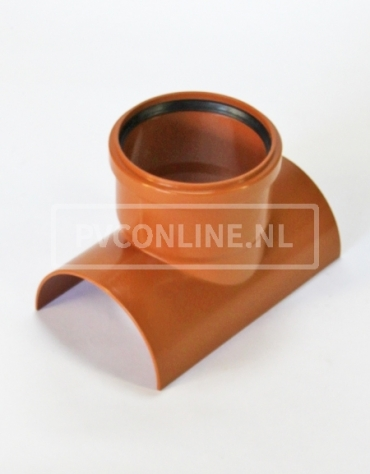 PVC RIOOLZADEL 125 x 110 MANCHET