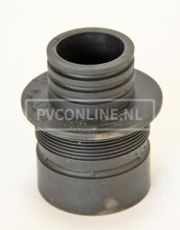 EPDM VERLOOP MANCHET 75/70 x 50/40 MM