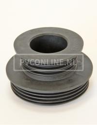 EPDM VERLOOP MANCHET 105/100 x 75/50 MM