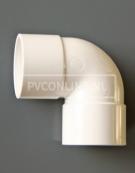 PVC BOCHT 2 X LM 32 90 WIT