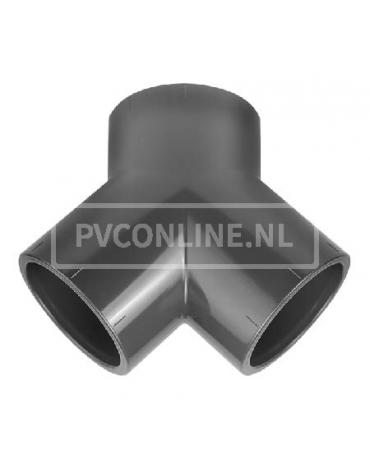PVC Y-STUK 50 X 50 X 50 PN 16
