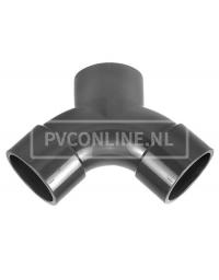 PVC STROOM Y-STUK 50 X 50 X 50 PN 16