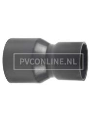 PVC HANDVORM VERLOOPSOK 63 X 50 PN12,5