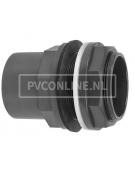 PVC HD DOORVOER 20/25 x 3/4 *VDL* TYPE A