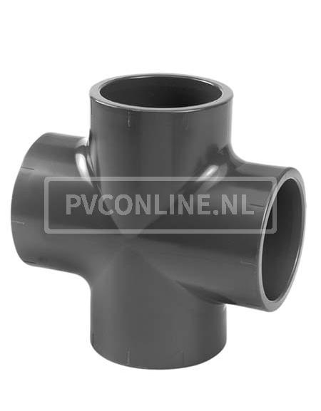 PVC KRUISSTUK 12X 12X 12X 12 PN 16