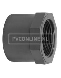 PVC LIJMRING 16X 1/4 PN 16