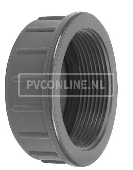 PVC DRAADKAP 3/8 PN 10