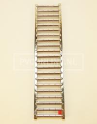 Aco self euroline sleufrooster Lengte 1mtr. RVS
