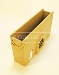 self euroline zand-vuilvanger onderbak + emmer L 500mm